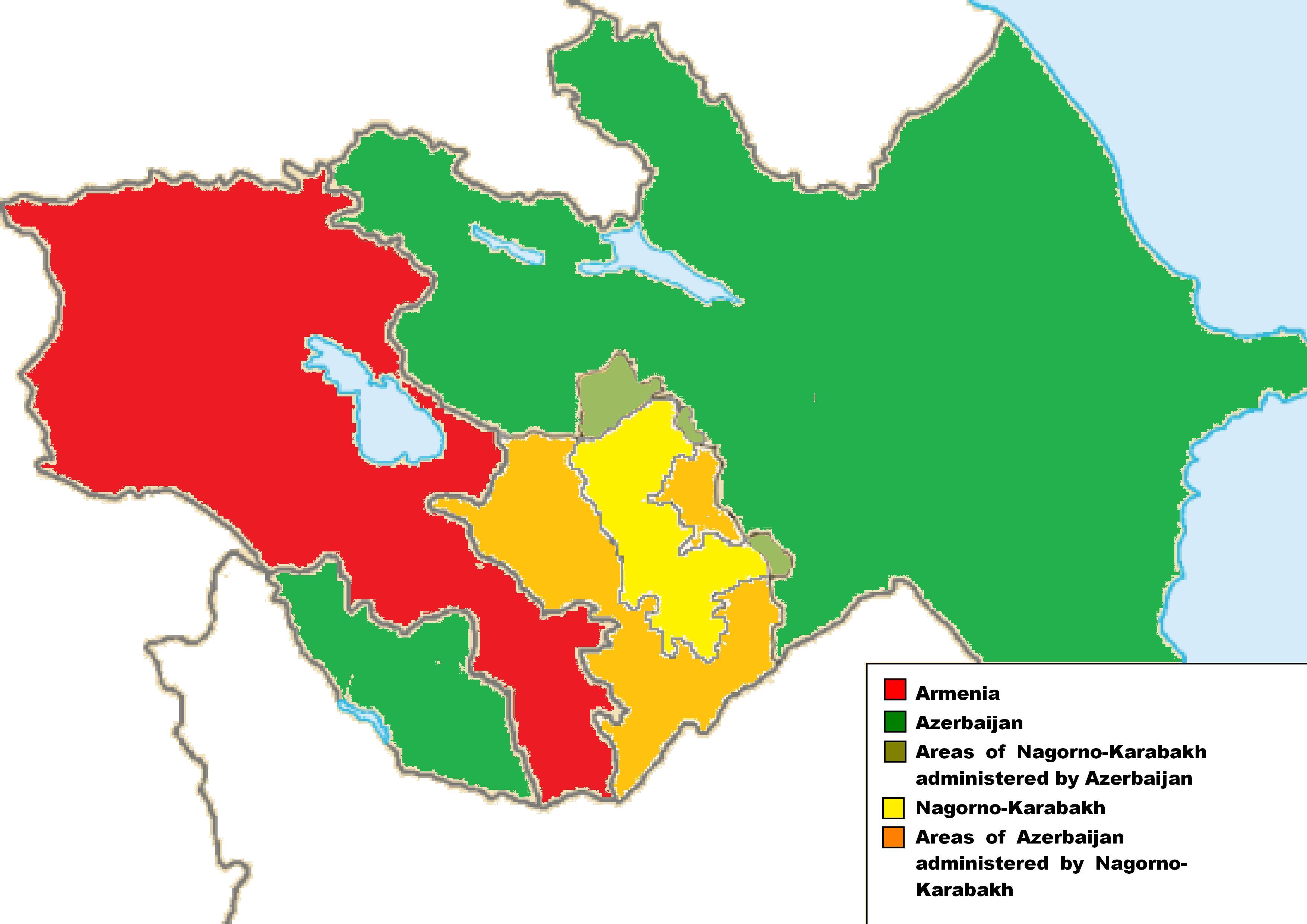 Azerbaijan Who rules where