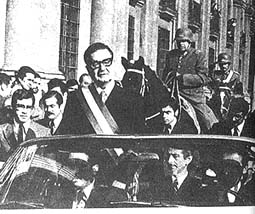 Pinochet and Allende