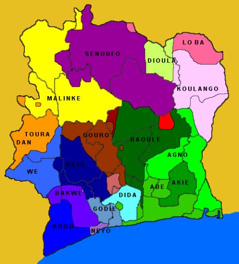 Ethnic subdivisions
