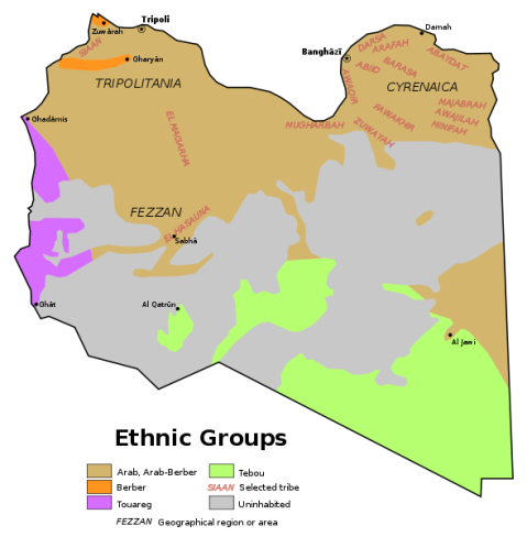 Libya ethnic groups