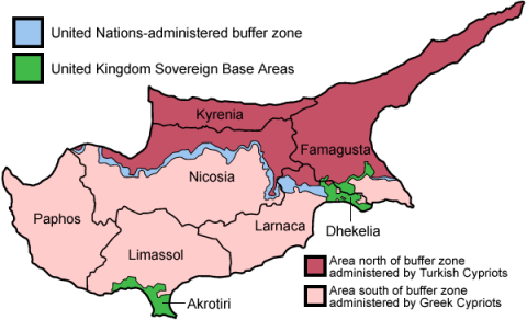Partition of Cyprus