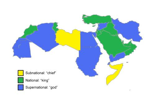 political approaches of the Middle Eastern states, subnational, national, supernational
