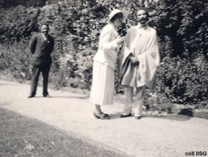 Selassie and Pankhurst